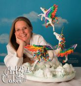 Art2Eat Cakes Heather Sherman Headshot Pegacornweb