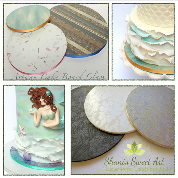 Beautiful Custom Cake Boards No Fondant San Diego Cake Show
