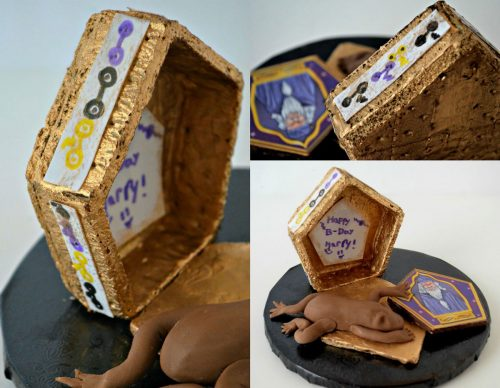 Chocolate Frogs and Trading Cards by Michelle Mitchie Curran