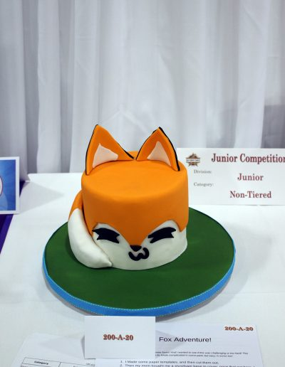 Lily Aguirre-2019 Show Junior Competition Entry Junior Non-Tiered Super Foxy